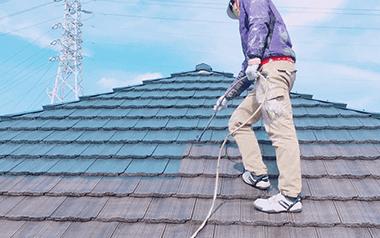 屋根塗装の塗り替え・シーリング