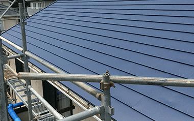 カバー工法(屋根の重ね張り)