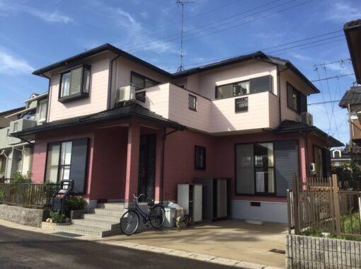 半田市 K様邸 『外壁塗装・屋根塗装・付帯部塗装工事・シーリング工事・防水工事』